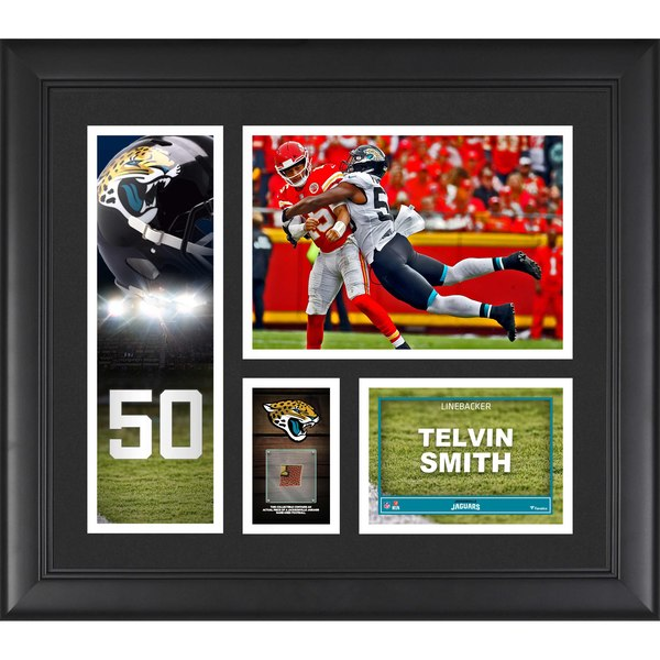 Jacksonville Jaguars Telvin Smith Fanatics Authentic Framed 15