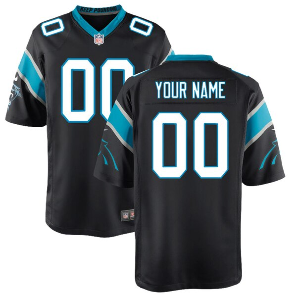 Youth Carolina Panthers Nike Black Custom Game Jer nfl jersey for sale 08520 movies