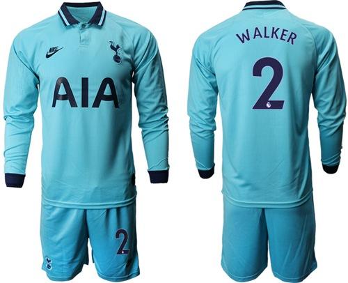 Tottenham Hotspur #2 Walker Third Long Sleeves Soc cheap reds jerseys 2019
