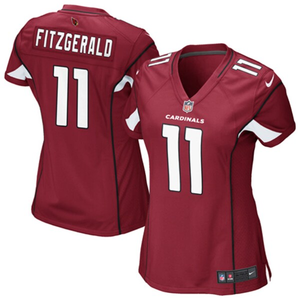Women's Arizona Cardinals Larry Fitzgerald Nike  baseball jerseys tilly's nest