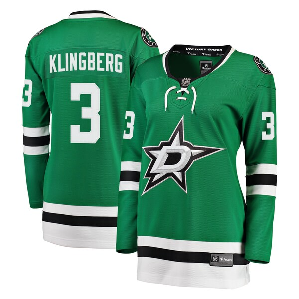 Women's Dallas Stars John Klingberg Fanatics Bra cheap jerseys China online